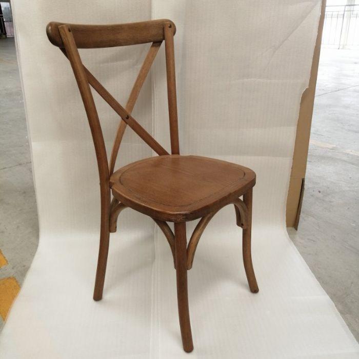 כיסא איקס עץ