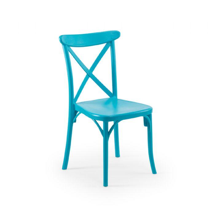 כיסא איקס טורקיז
