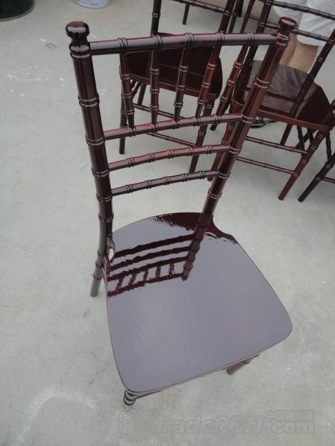 כסא בר מהגוני