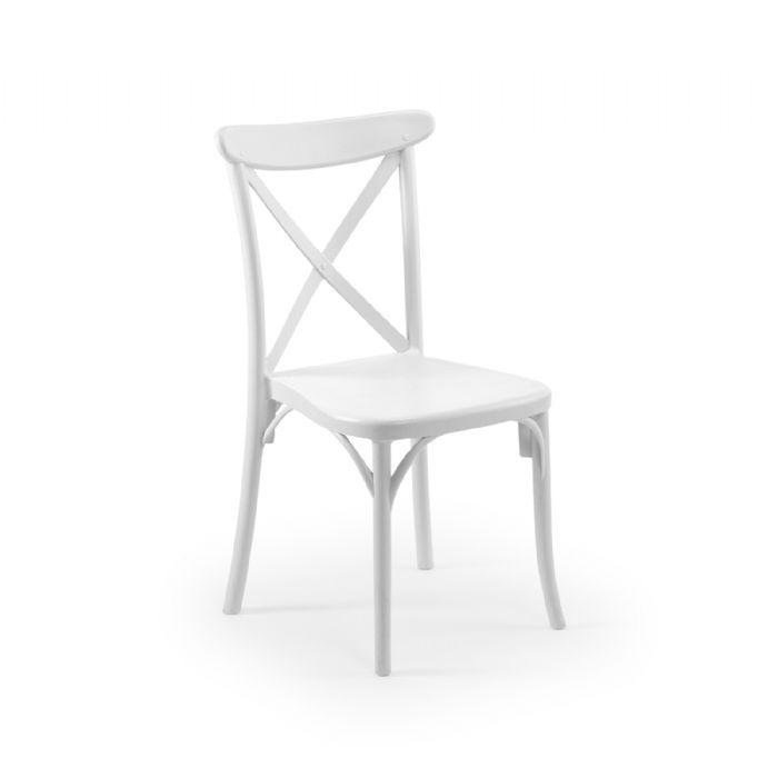 כיסא בר איקס לבן
