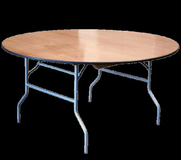 """שולחן אירועים עגול 122 ס""""מ"""