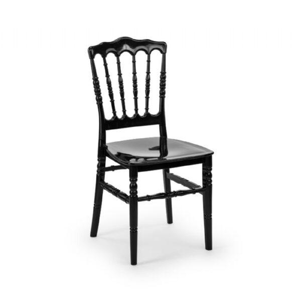 כיסא נפוליאון שחור
