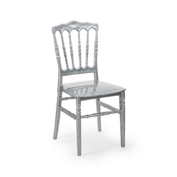 כיסא נפוליאון כסף