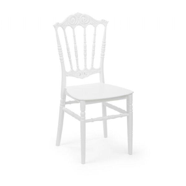 כיסא עלית לבן