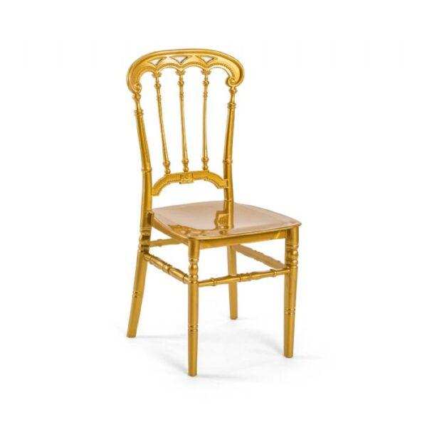 כיסא רומא זהב