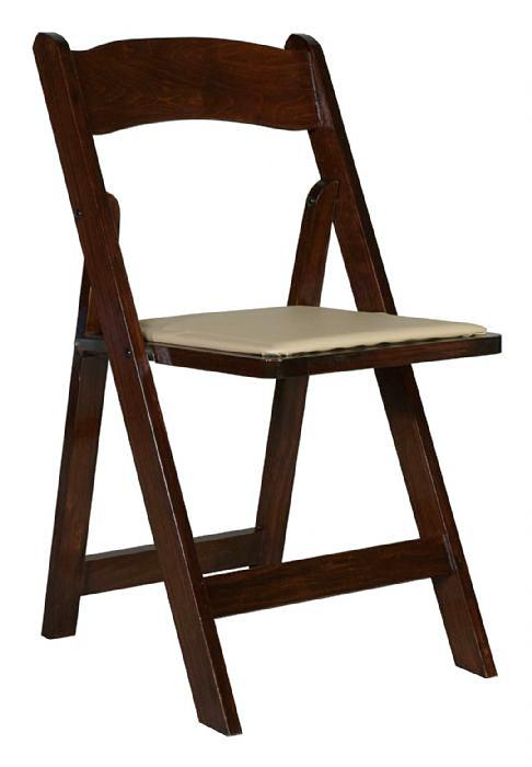 כיסא עץ מתקפל שחור – black folding chair