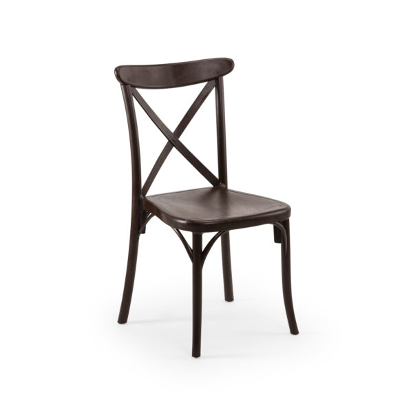 כיסא איקס שחור